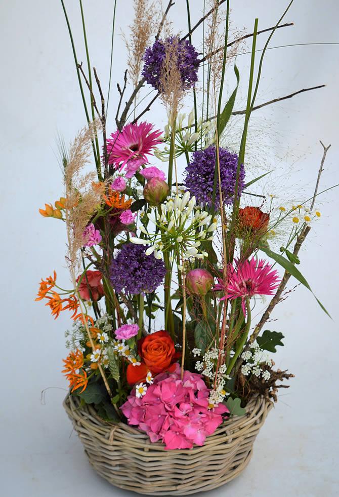 Blumenkorb